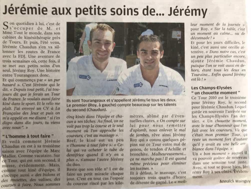 article-la-nouvelle-reprublique-jeremie-chaudun-jeremy-roy-tours-de-france